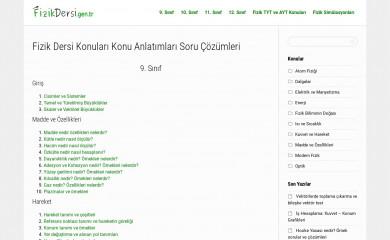 http://fizikdersi.gen.tr screenshot