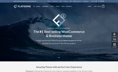 Flatsome | Shared By Themes24x7.com screenshot