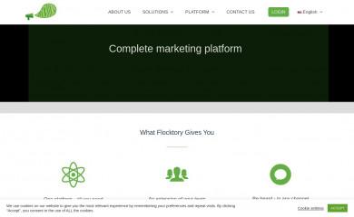 flocktory.com screenshot