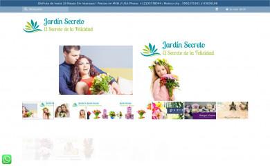 floreriajardinsecreto.net screenshot