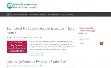 flutter-examples.com screenshot