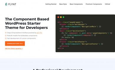 https://www.flyntwp.com/ screenshot
