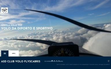 http://flyscabris.it screenshot