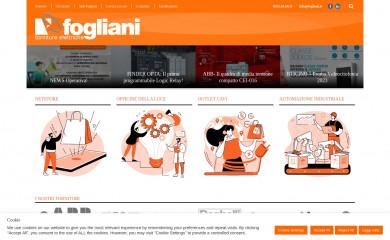 http://www.fogliani.it screenshot