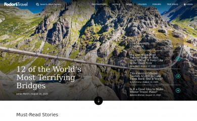 fodors.com screenshot