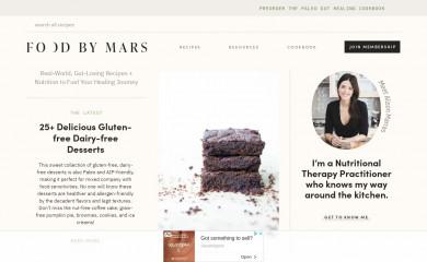 http://foodbymars.com screenshot