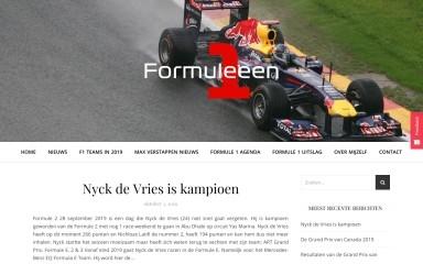 formuleeen.nl screenshot