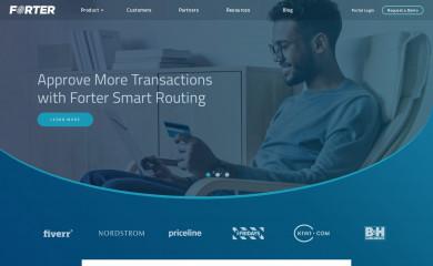 forter.com screenshot