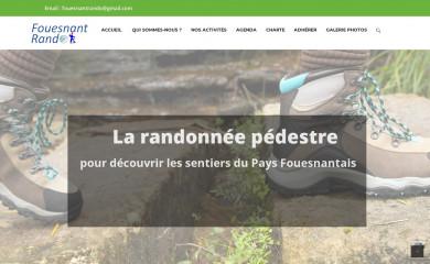 fouesnant-rando.com screenshot