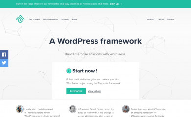 http://framework.themosis.com/ screenshot
