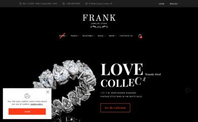 Frank Jewelry Store screenshot