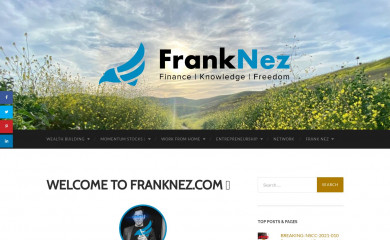franknez.com screenshot