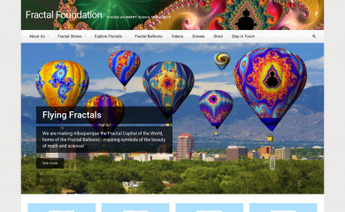 http://fractalfoundation.org screenshot