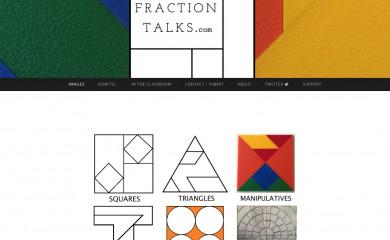 fractiontalks.com screenshot