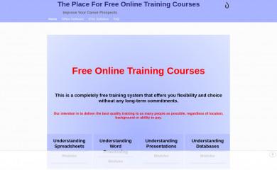 free-online-training-courses.com screenshot
