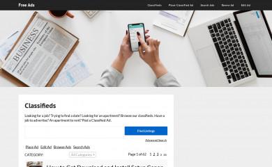 freeads.tech screenshot