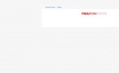 freeforfonts.com screenshot