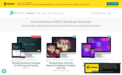freehtml5.co screenshot