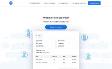 freeinvoicebuilder.com screenshot
