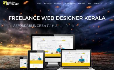 freelancewebdesignerkerala.in screenshot