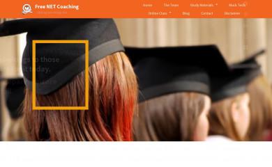 freenetcoaching.co.in screenshot