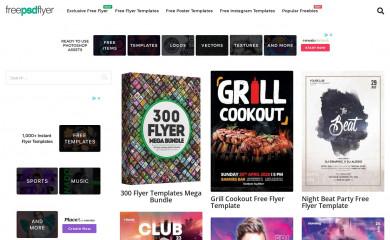 http://freepsdflyer.com screenshot
