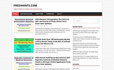 freshhints.com screenshot