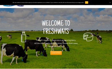freshways.co.uk screenshot