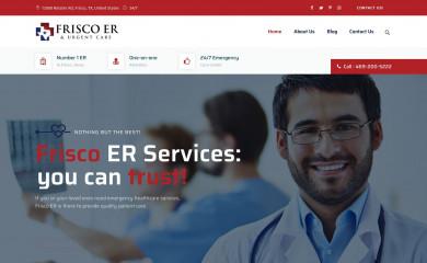 frisco-er.com screenshot