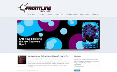 frontlinegaming.org screenshot