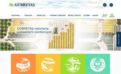 gubretas.com.tr screenshot
