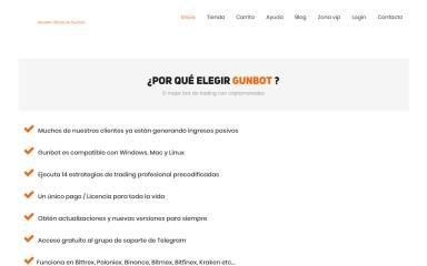 gunbot.es screenshot