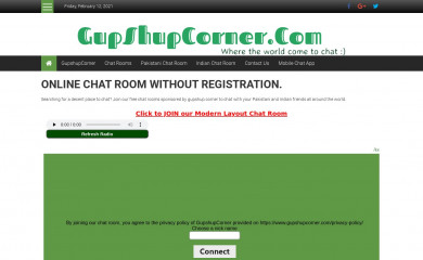 gupshupcorner.com screenshot