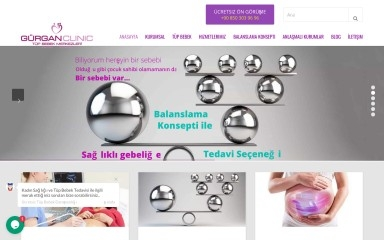 gurganclinic.com screenshot