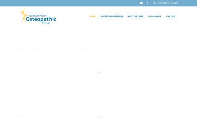 gvosteoclinic.com.au screenshot