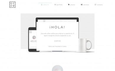 gaellecordier.es screenshot