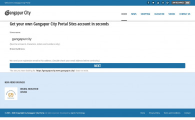 gangapur.city screenshot