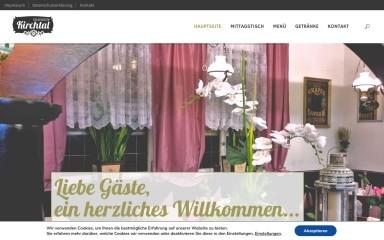 http://gaststaette-kirchtal.de screenshot