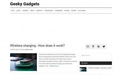 http://geeky-gadgets.com screenshot