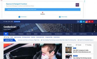 geeksscan.com screenshot