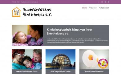 geldauflage-kinderhospiz.de screenshot