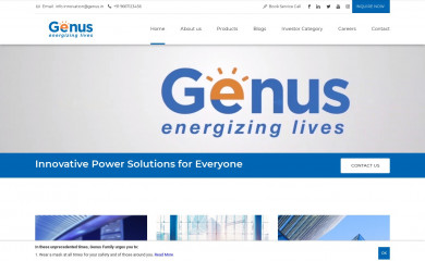 genusinnovation.com screenshot