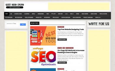 getseoinfo.com screenshot