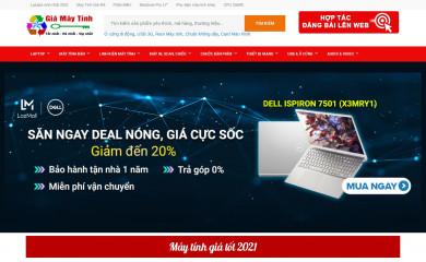 giamaytinh.net screenshot