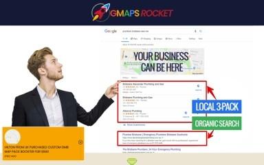 gmapsrocket.com screenshot