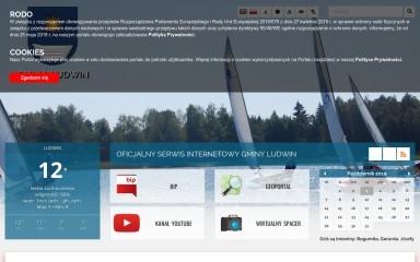 gminaludwin.pl screenshot