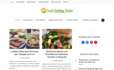 goodhealthyrecipe.com screenshot