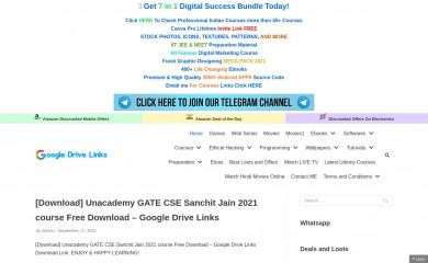 googledrivelinks.com screenshot