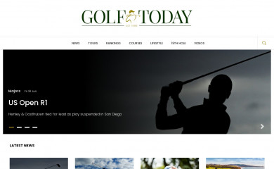 golftoday.co.uk screenshot