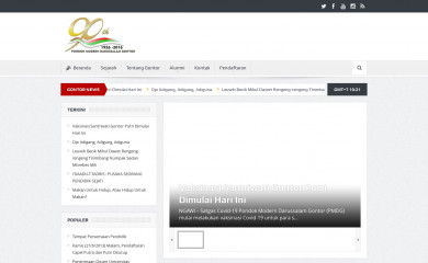 gontor.ac.id screenshot